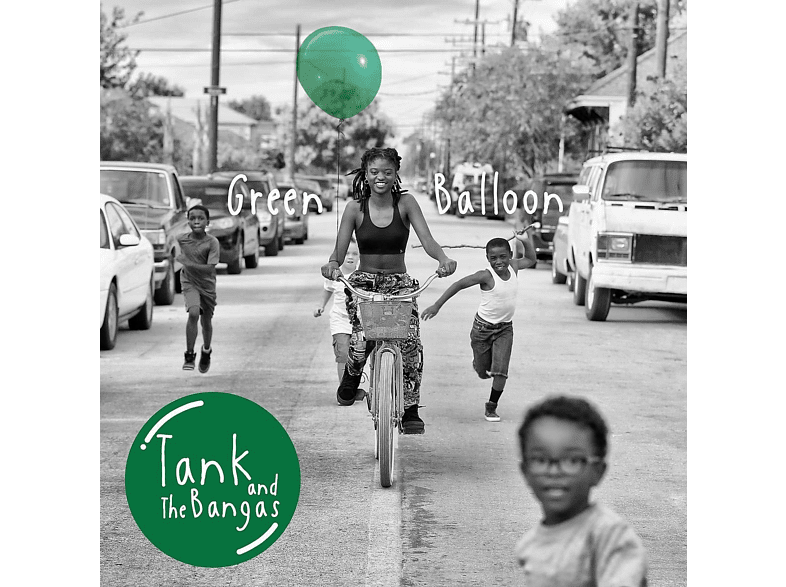 Tank And The Bangas - Green Balloon (Black Vinyl) [Vinyl]