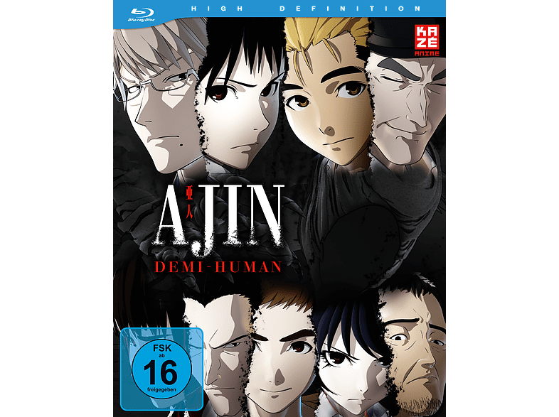 Ajin – Demi-Human – Box 1 [Blu-ray]