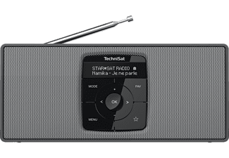 TECHNISAT DIGITRADIO 2 S, Portables DAB+/UKW-Stereoradio mit Bluetooth-Audiostreaming