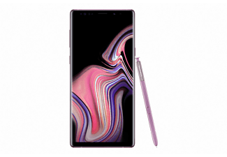 "Móvil - Samsung Galaxy Note 9, 6.4"", QHD+, Exynos 9810 Octa-core, 6 GB RAM, 128 GB, 12MP+12MP, Lila"