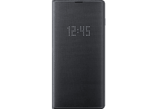 SAMSUNG Galaxy S10+ LED view cover Fekete (OSAM-EF-NG975PBEG)