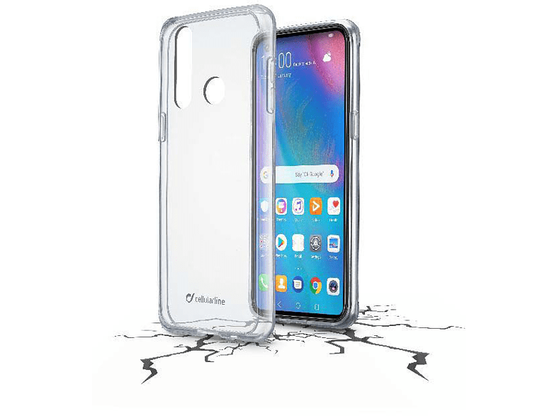 CELLULAR LINE Clear Duo , Backcover, Huawei, P30 Lite, Thermoplastisches Polyurethan, Transparent