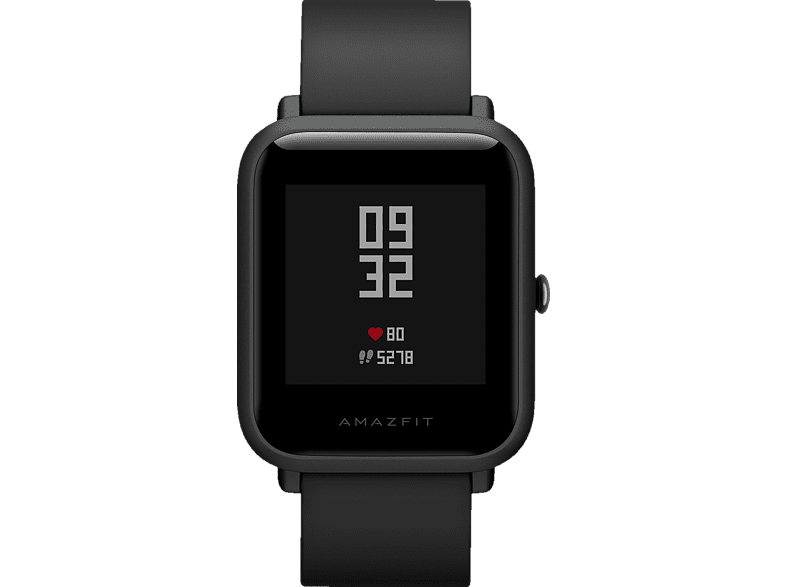 AMAZFIT BIP, Smartwatch, 195 mm, Onyx Black