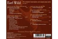 Giovanni Doria Miglietta - Wild:Complete Transcriptions And Piano Works [CD]