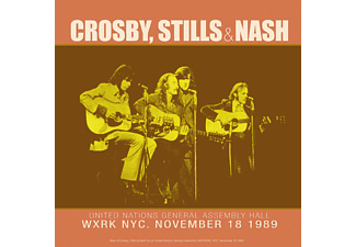 Crosby, Stills & Nash - Best Of Live At united Nations General Assembly Hall LP