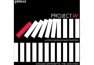 Chicago Sinfonietta - Project W   Works by Diverse Women Composers - (CD)
