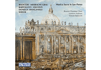 Rossini Chamber Choir, Lorenzo Antinori - MUSICA SACRA IN SAN PIETRO - (CD)