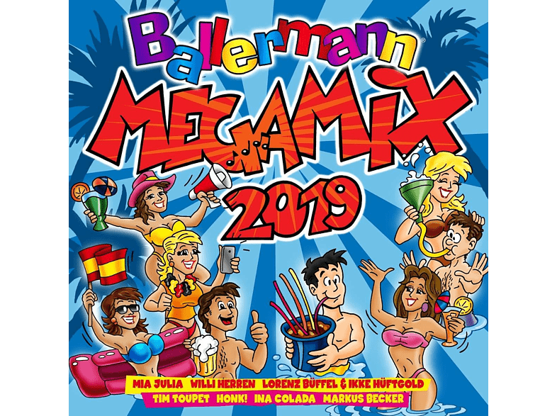 VARIOUS - Ballermann Megamix 2019 [CD]