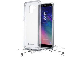 CELLULARLINE Cover Clear Duo Galaxy A6 (2018) Transparent (CLEARDUOGALA618T)