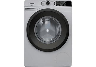 GORENJE WE 74S3PA Colour Edition Waschmaschine, 7 kg, Frontlader, 1400 U/Min., Silber