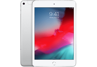 "APPLE iPad mini 7.9"" 64 GB Wi-Fi + Cellular Silver Edition 2019 (MUX62NF/A)"