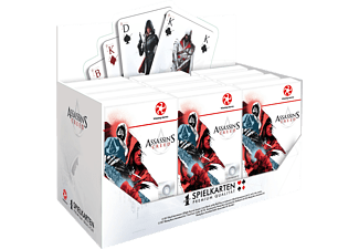 WINNING MOVES Number 1 Assassin's Creed Kartenspiel, Mehrfarbig