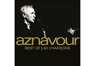 Charles Aznavour - Best of 40 chansons CD