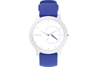 WITHINGS  Move, Smartwatch, 200 mm, Silikon, Weiß/Blau