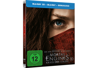 Mortal Engines 3D+2D (Exklusives Steelbook) - (3D Blu-ray)