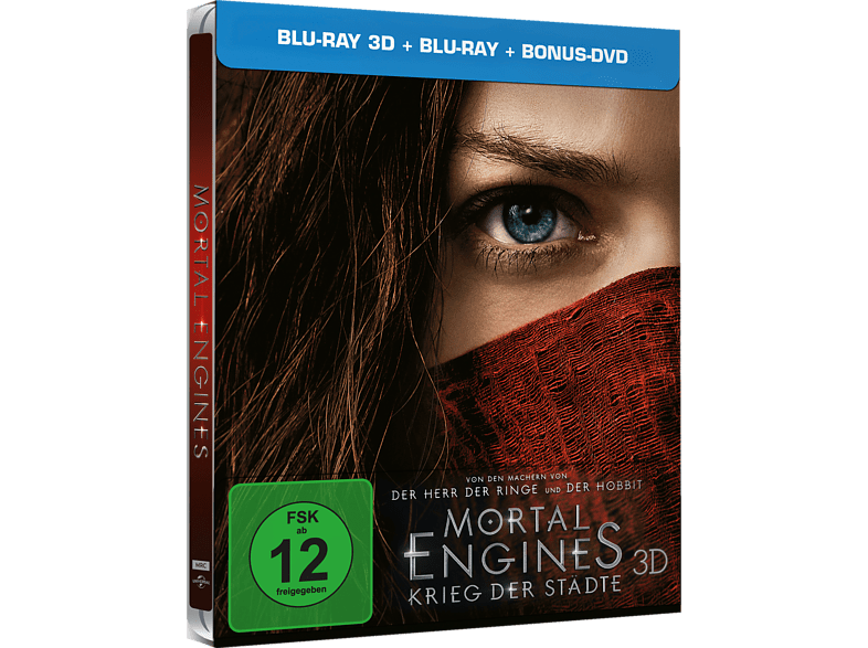 Mortal Engines 3D+2D (Exklusives Steelbook) [3D Blu-ray]