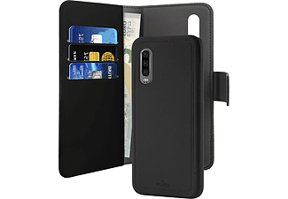 PURO Eco-Leather Case Friendly für Huawei P30 Pro, schwarz