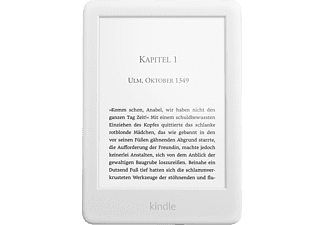KINDLE 6 2019 e-Book-Reader Weiß (B07FPX2YDK)