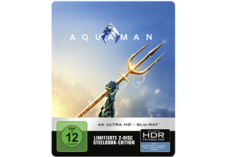Aquaman Limited Steelbook Edition Action 4K Ultra HD Blu-ray