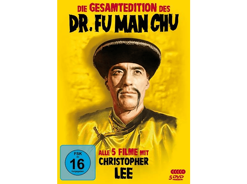 Dr. Fu Man Chu - Gesamtedition [DVD]