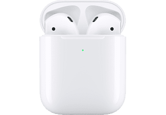APPLE AirPods mit kabellosem Ladecase 2. Gen, In-ear, True Wireless Kopfhörer, Weiß