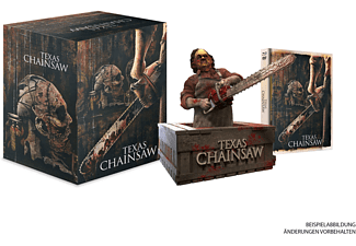 Texas Chainsaw: Leatherface Büste + Mediabook (TC Unrated Version+TC Massacre) 222 Stück nummeriert - (Blu-ray)