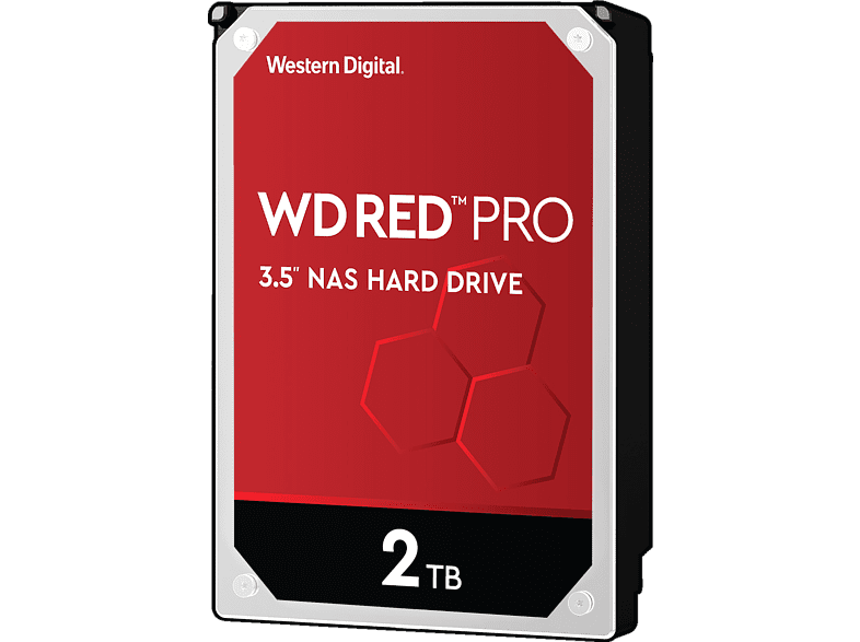 WD Red™ Pro BULK, 2 TB HDD, 3.5 Zoll, intern