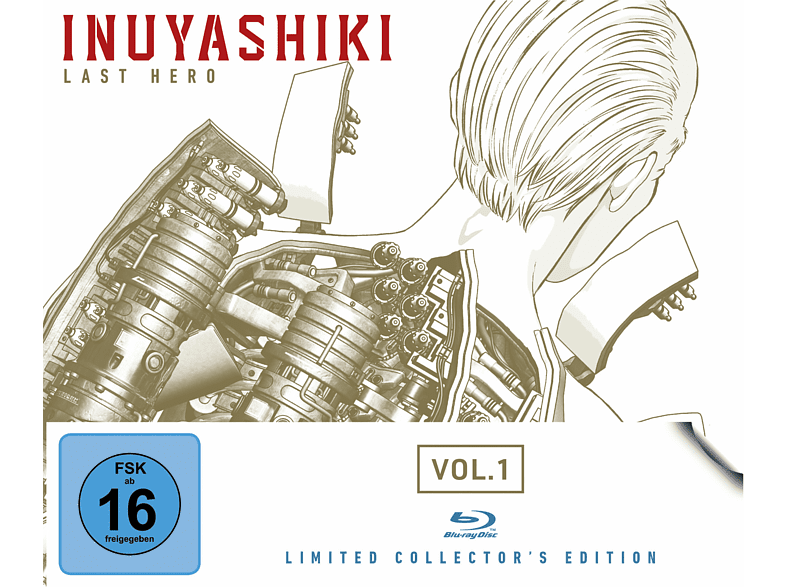 Inuyashiki Last Hero Vol. 1 (Limited Collector's Edition) [Blu-ray]