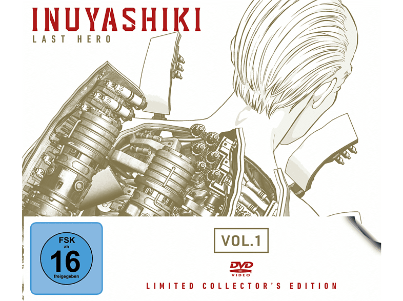 Inuyashiki Last Hero Vol.1 (Limited Collector's Edition) [DVD]