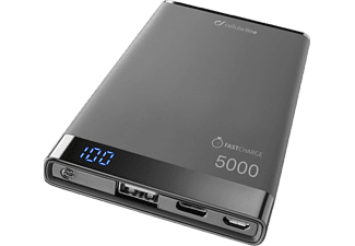 CELLULARLINE Powerbank Freepower Manta S 5000 mAh Noir (FREEPMANTA5USBCK)
