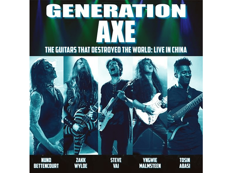 Vai/Wylde/Malmsteen/Bettencourt/Abasi - GENERATION AXE GUITARS THAT DESTROYED THE WORLD [CD]