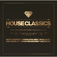 VARIOUS - House Classics-The History Of Funky House Music [CD]
