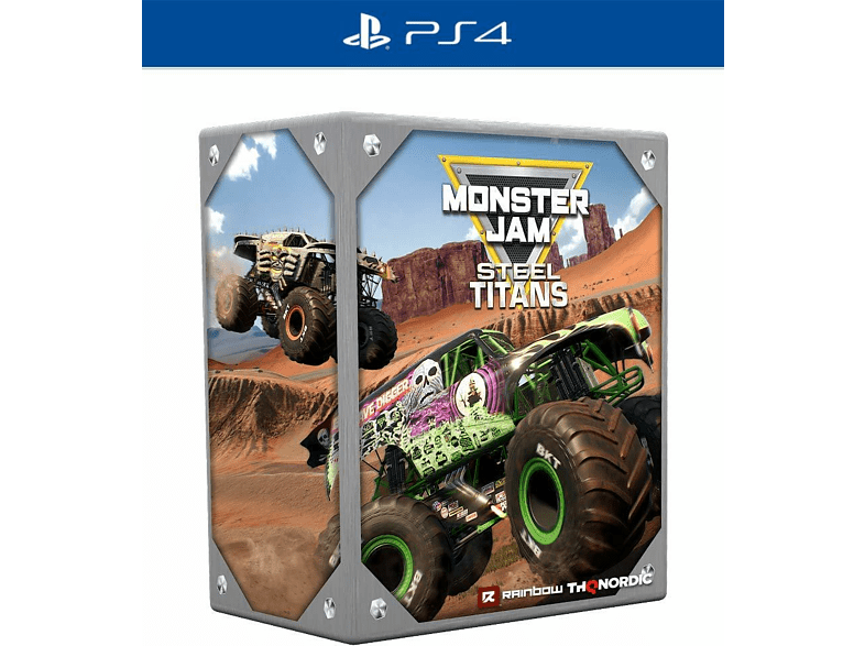 Monster Jam Steel Titans - Collector's Edition [PlayStation 4]