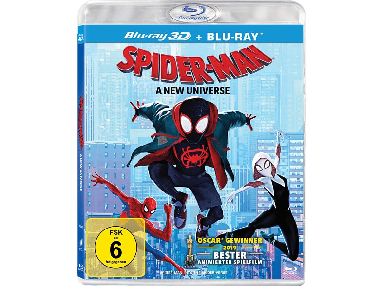 Spider-Man: A new Universe [3D Blu-ray (+2D)]