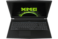 XMG A507 VE - L18mkw, Gaming Notebook mit 15.6 Zoll Display, Core™ i5 Prozessor, 8 GB RAM, 500 GB SSD, GeForce GTX 1050, Schwarz