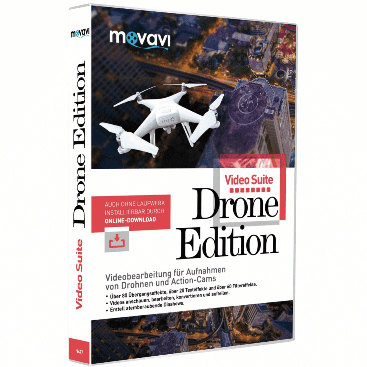 VIDEO SUITE DRONE EDITION auf CD-ROM