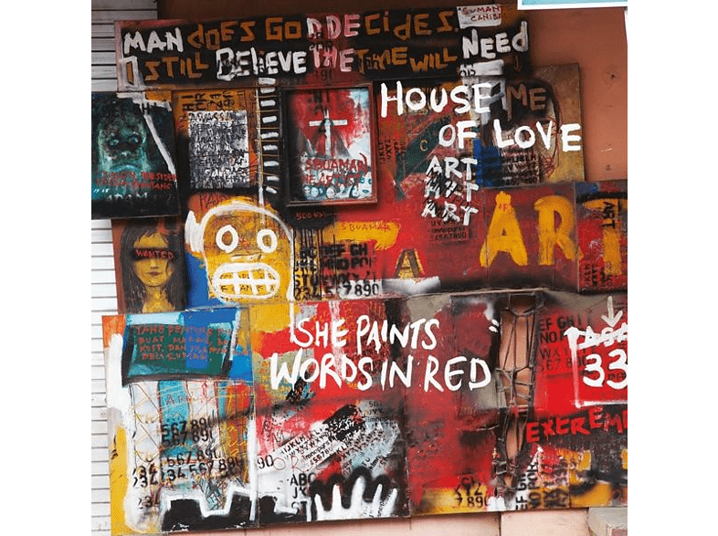 The House Of Love - She Paints Words In Red [Vinyl]