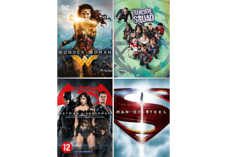 DC Comics Movie Collection: 4-films - DVD
