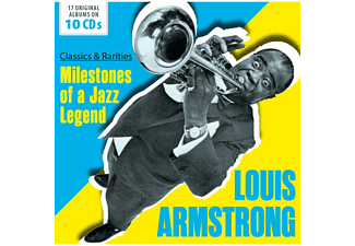 Louis Armstrong - Classics and Rarities: Milestones of a Jazz Legend CD