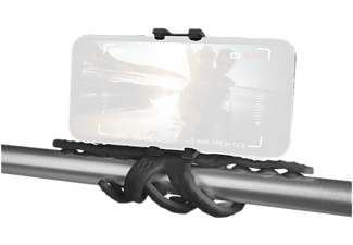 CELLY Support flexible Noir pour smartphone (SQUIDDYBK)