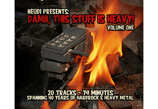 VARIOUS - Damn,This Stuff Is Heavy - (CD)