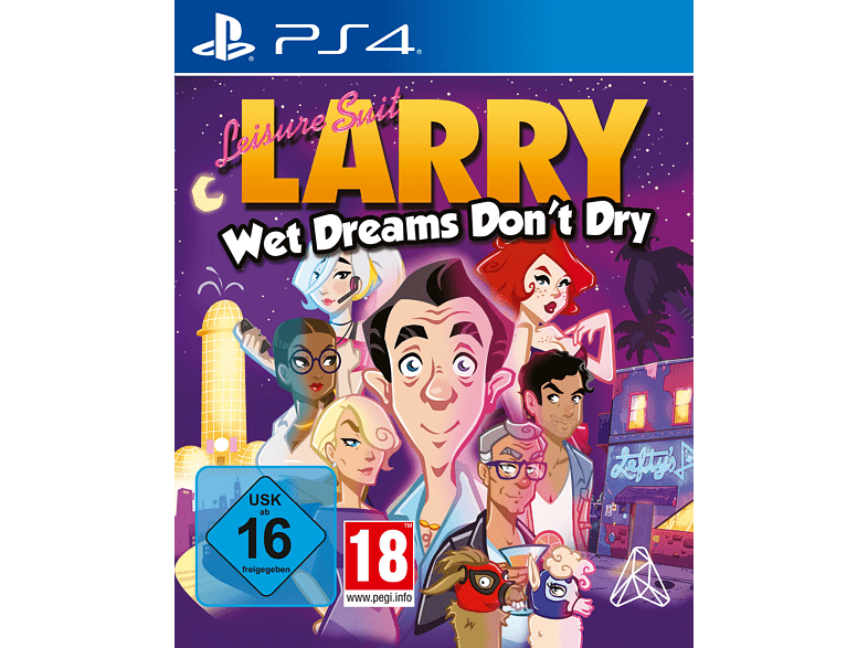 Leisure Suit Larry: Wet Dreams Don't Dry [PlayStation 4]