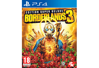 Borderlands 3 Super Deluxe Edition NL/FR PS4