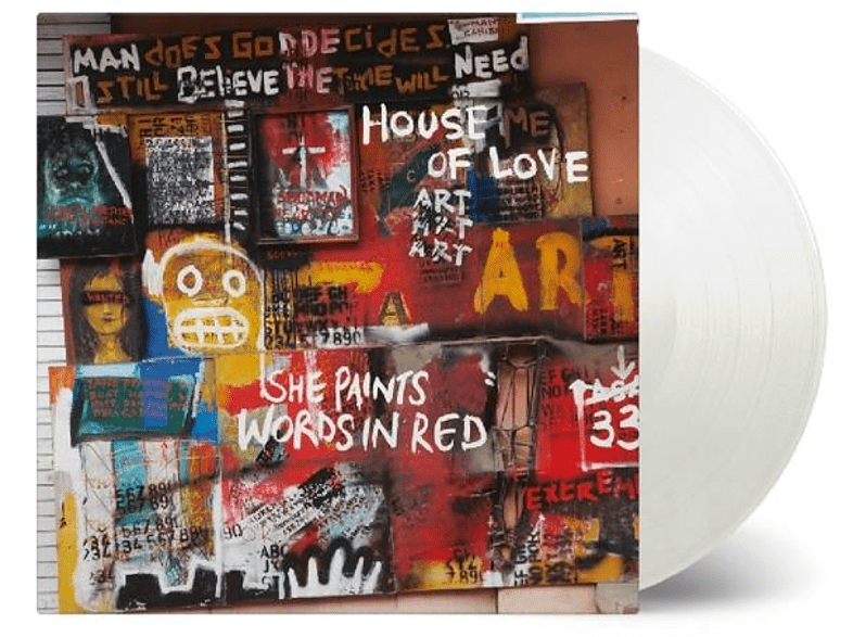 The House Of Love - She Paints Words In Red (ltd weisses Vinyl) [Vinyl]