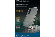 CELLULAR LINE TETRA FORCE Backcover Samsung Galaxy A50 Thermoplastisches Polyurethan + Versaflex™ + Polycarbonat  Transparent