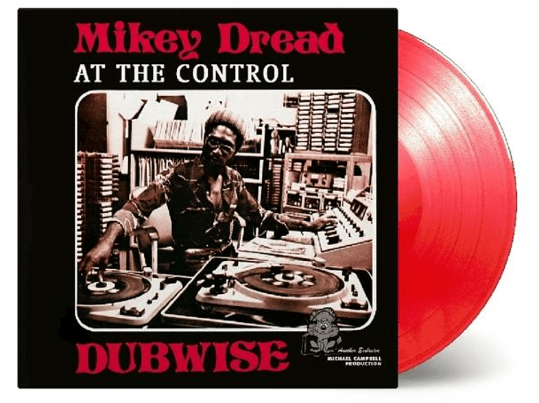 Mikey Dread - At The Control Dubwise (ltd transparent rotes Viny [Vinyl]