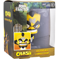 PALADONE PRODUCTS Icon Licht: Crash Bandicoot - Dr. Neo Cortex Actionfigur, Mehrfarbig