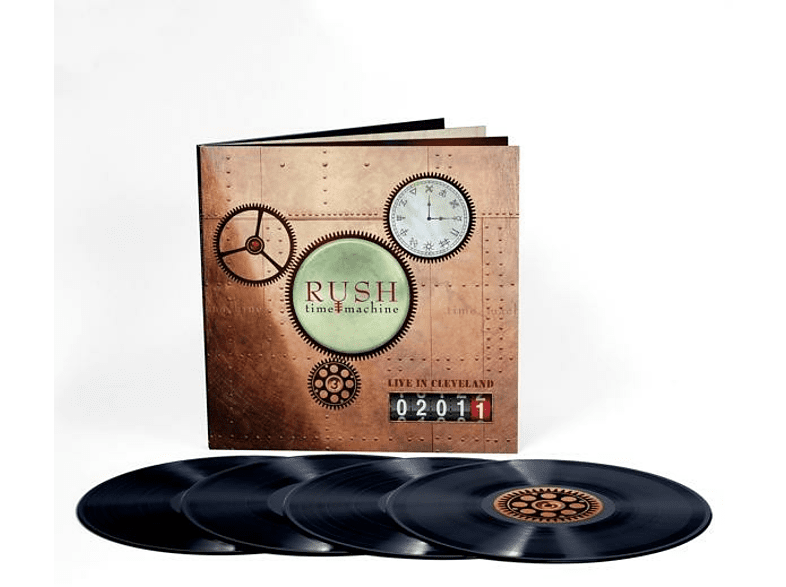 Rush - Time Machine 2011:Live In Cleveland [Vinyl]