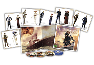 TITANIC Special Collector's Edition inkl. Soundtrack (4 Discs + Art Cards) - (Blu-ray + DVD)
