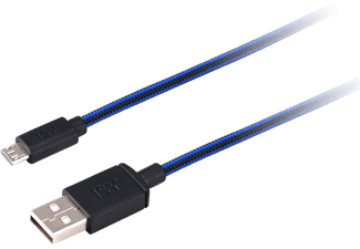 ISY IC-300 PS4 Braided Charging Cable 3M - 501900